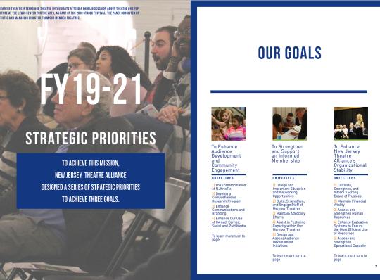 Screen Shot NJTA FY19_21 Strategic Plan, strategic priorities and 3 goals